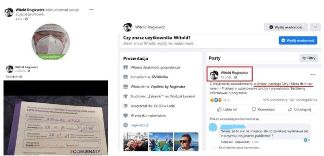 Śmierć znanego lekarza cenzurowana przez media społecznościowe